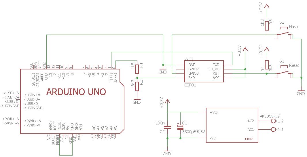 RCoid - Hilfe für das ESP8266 WiFi-Modul